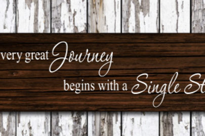 Every great journey