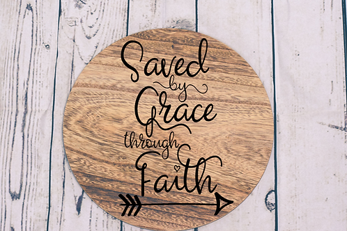 saved by grace sign