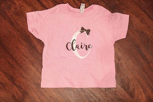 Personalized girls shirts