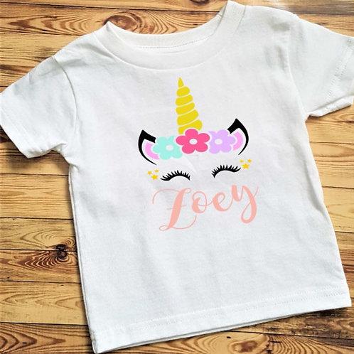Unicorn t-shirt/bodysuit