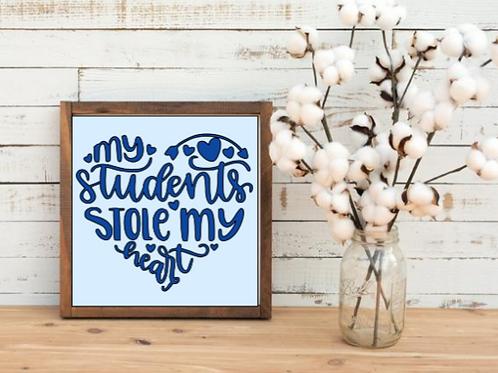 Students stole my heart
