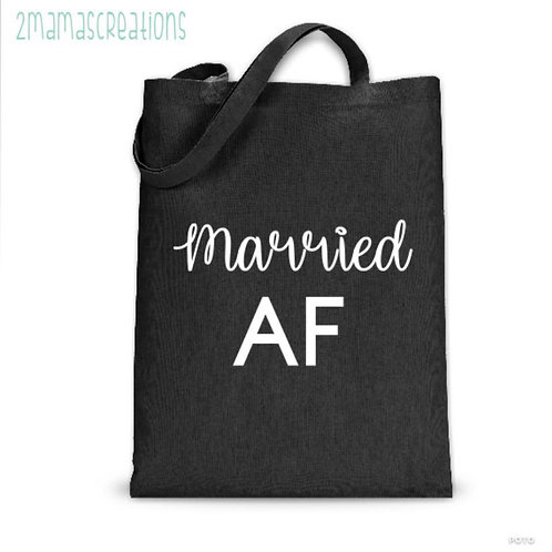 Married AF tote