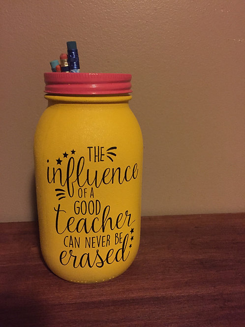 Teacher Mason Jar