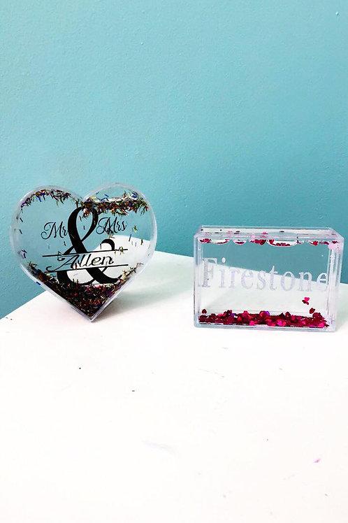 Personalized Valentines Blocks