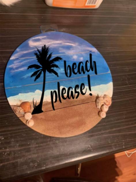 beach please sign