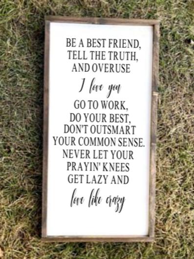 Be a best friend