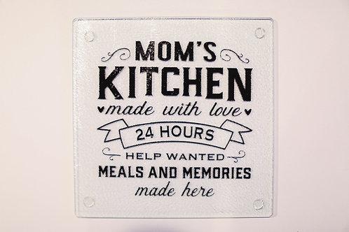 Mom's Kitchen cutting board