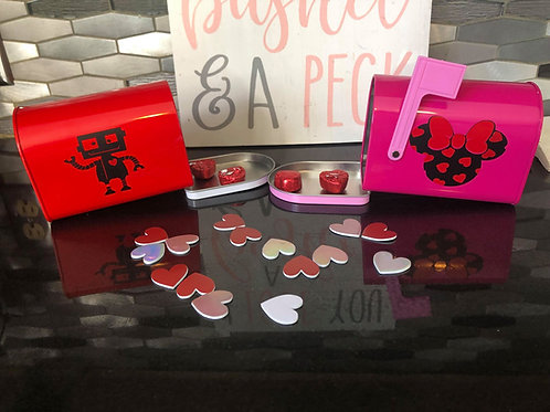 Customized Kids Valentines Mailboxes