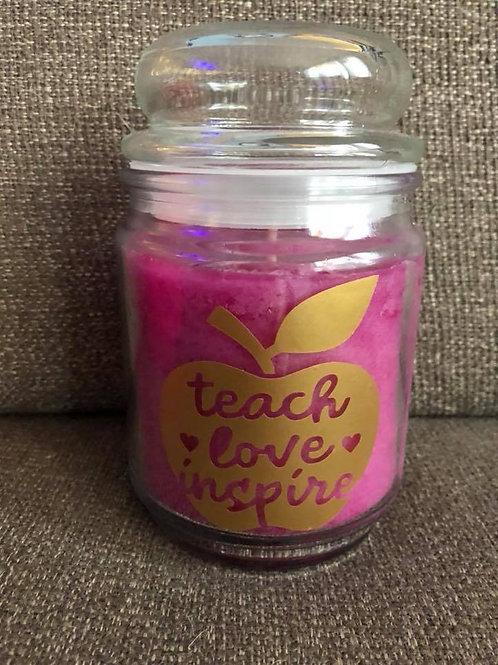 Teacher candles