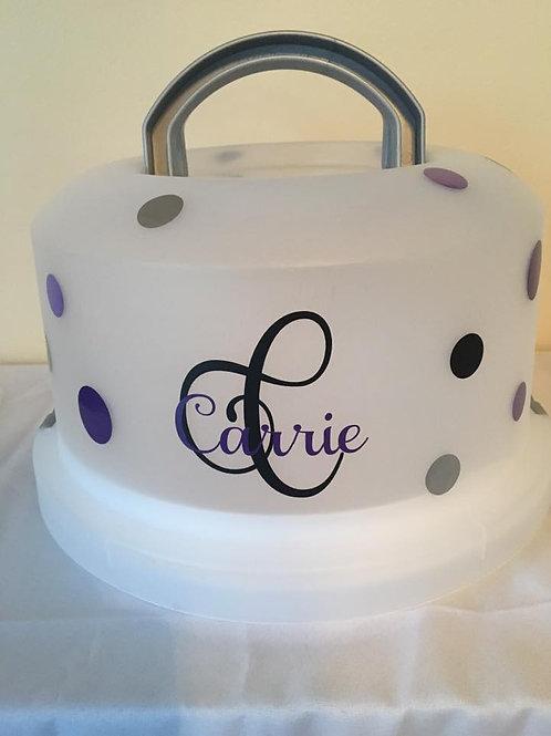 5 in 1 custom cake carriers