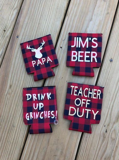 CUSTOMIZED CAN HOLDERS