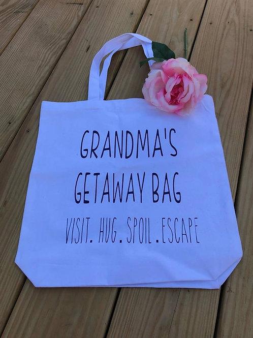 Grandma's Getaway bag