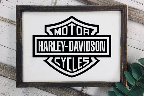 Motor Cycle HD sign