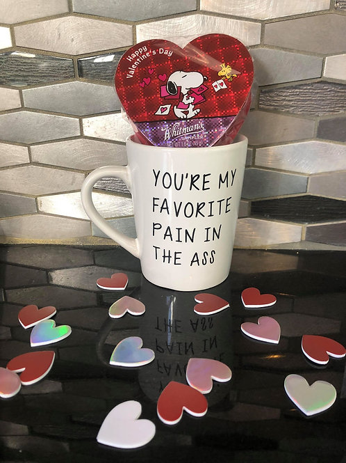 YOU'RE MY FAVORITE PAIN IN THE ASS COFFEE MUG