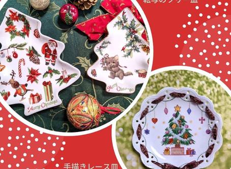 クリスマスイベント クリスマスプレートを作ろう!