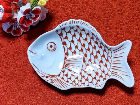 絵付けイベント〜鯛の小皿&お雛様の貝合わせ