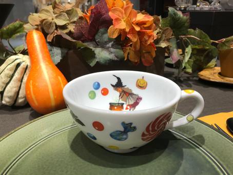 陶磁器絵付け ハロウィンイベント
