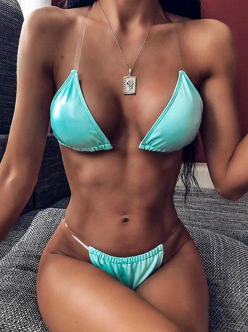 Invisible Halter Bikini