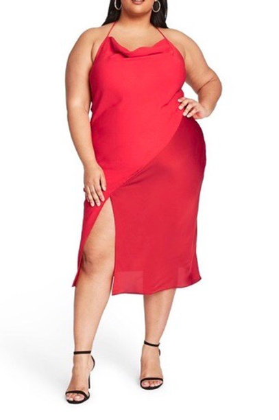 Plus Size Slip Dress