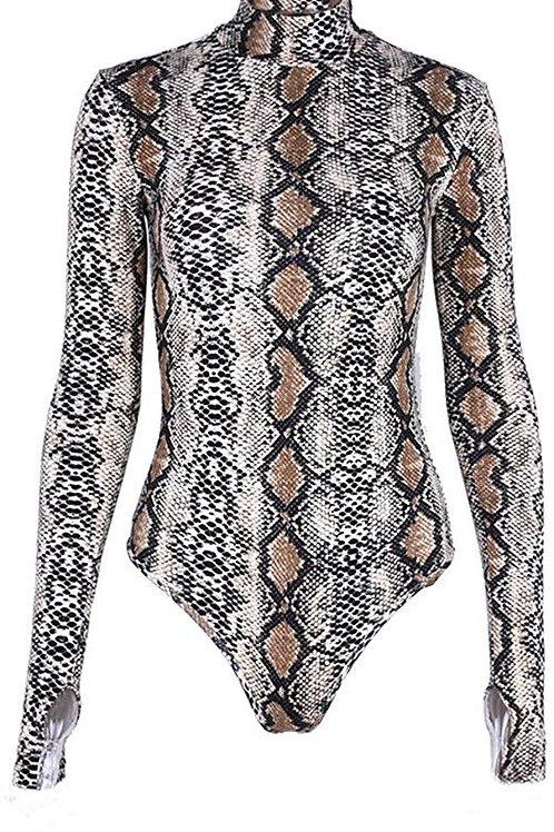 Snakeskin Bodysuit
