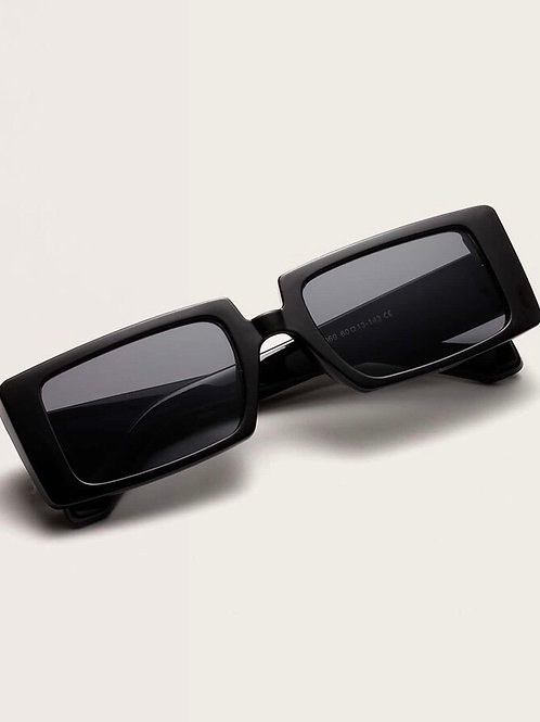 Rectangle Black Out Sunnies