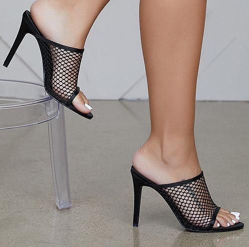 Net Mule Heels