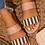 Thumbnail: Striped Double Strap Sandals