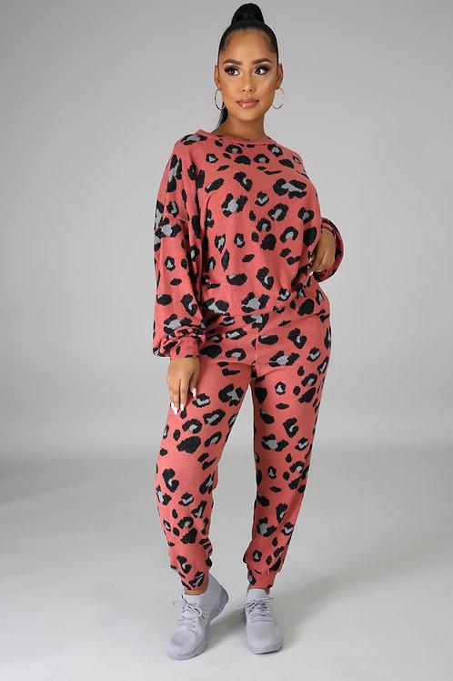 Leopard Sweatsuit
