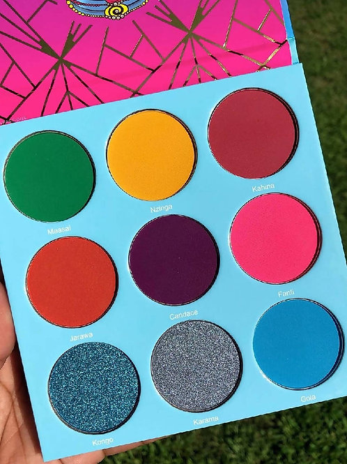 Juvia's Place The Warrior III Eyeshadow Palette
