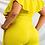 Thumbnail: Plus Size Ruffled Neck Jumpsuit