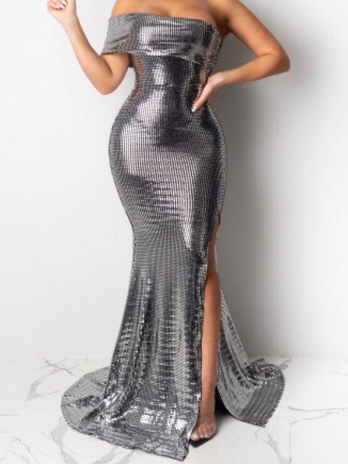 Metallic Gown