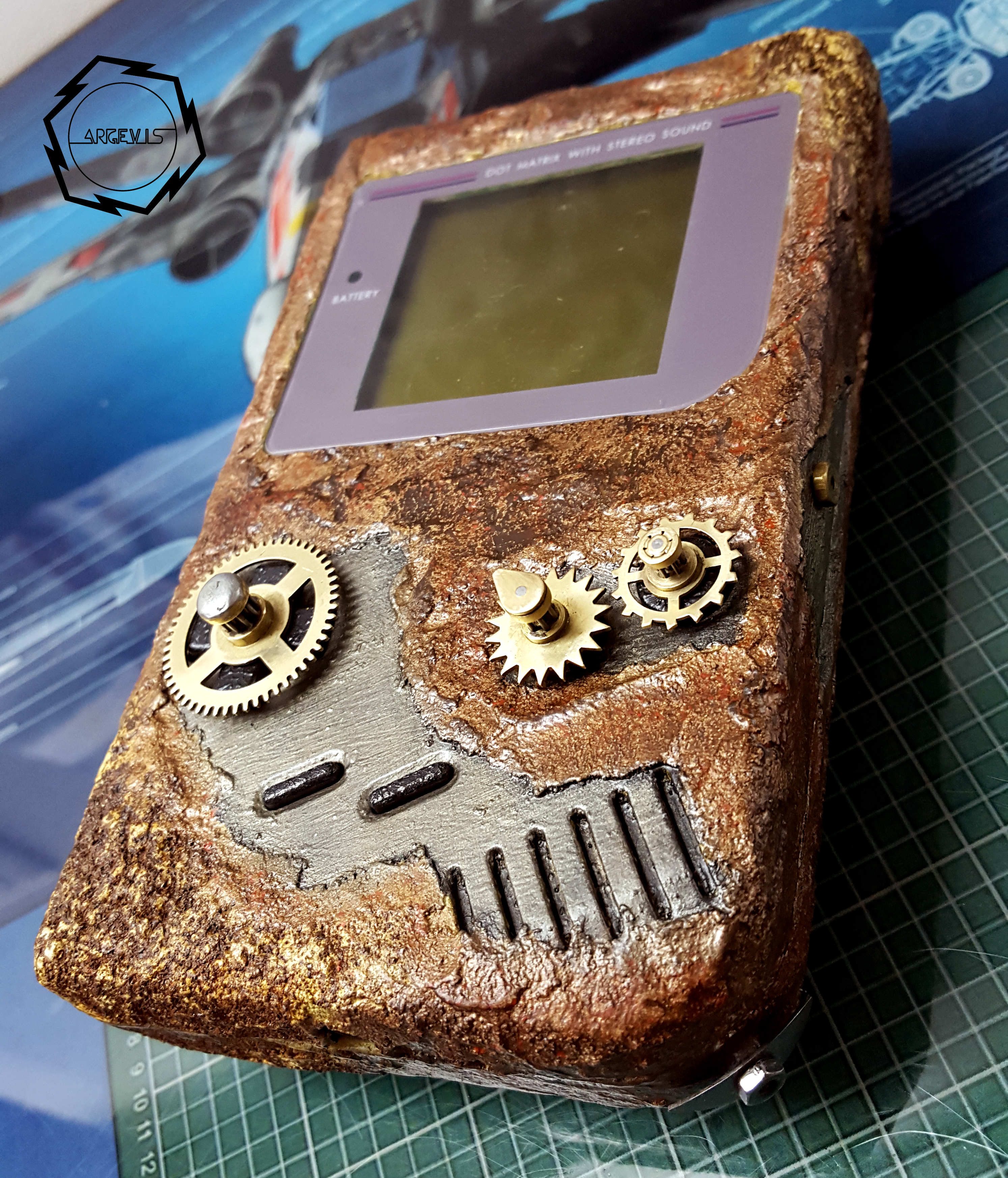 Game boy fat steampunk