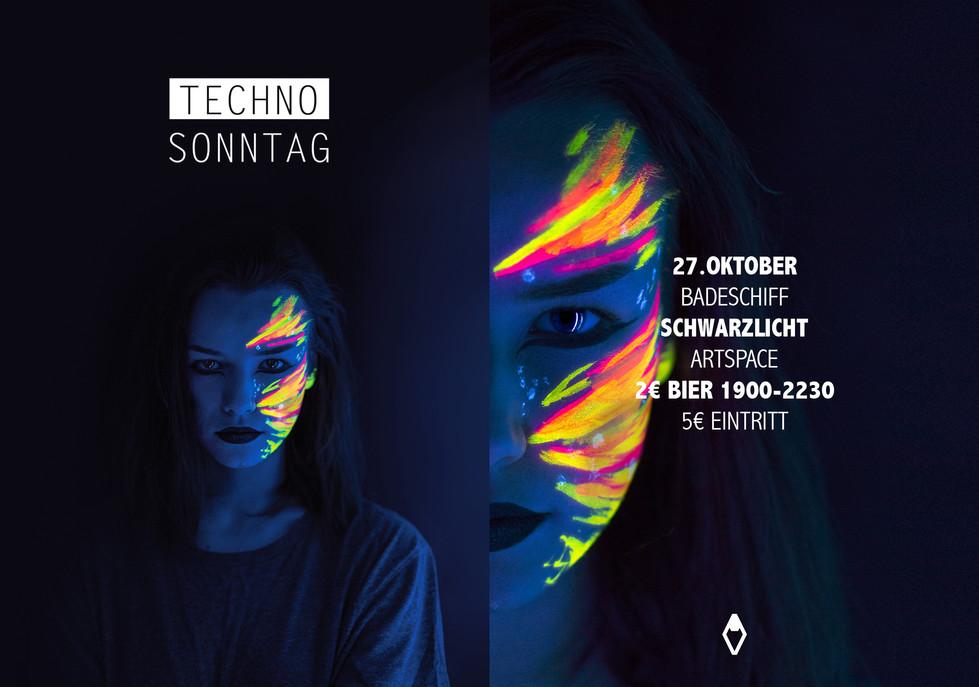 Techno Sonntag Flyer 2 Vakat Johannes Je