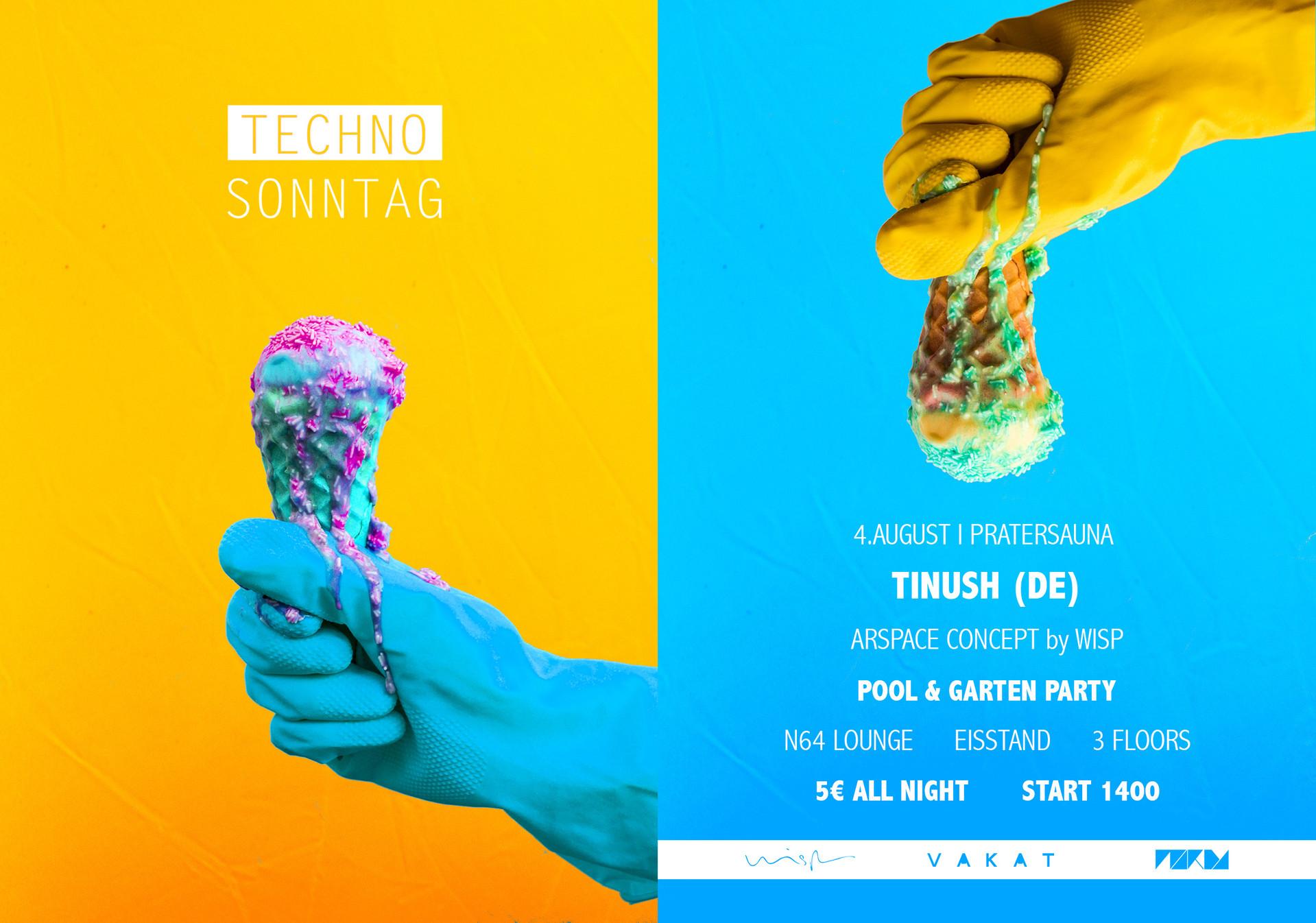 Techno Sonntag Flyer 3 Vakat Johannes Je
