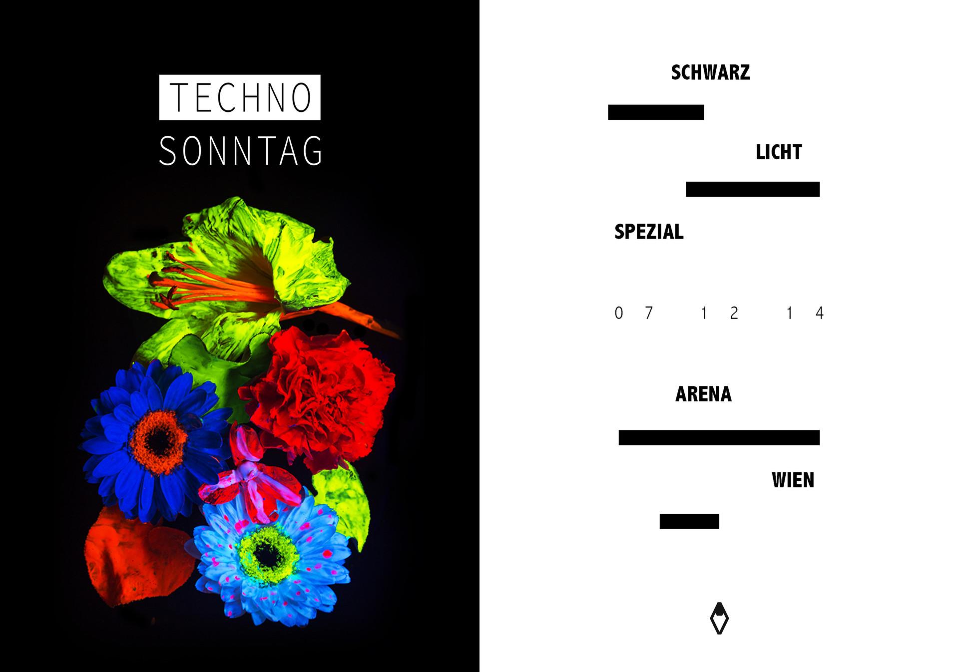 Techno Sonntag Flyer Vakat Johannes Jeli