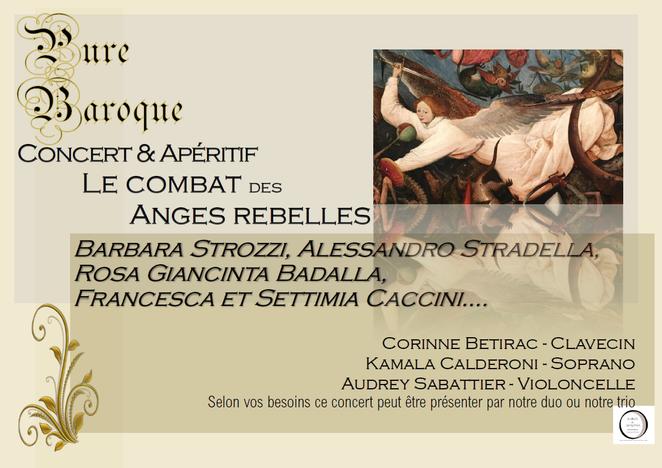 Concert Les Anges Rebelles