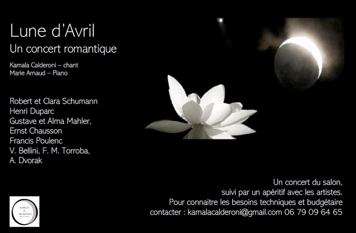 Lune d'avril, concert romantique