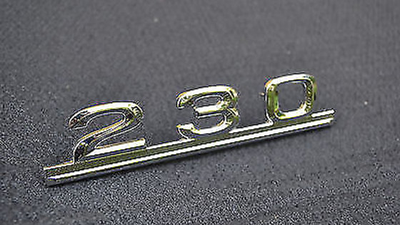230 Lettering for Mercedes Benz nameplate Emblem 230er NEW Massively pluggable