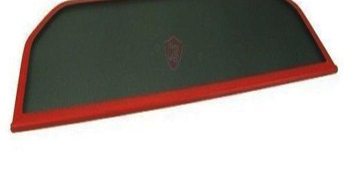 Windschott Windstop Windschutz Windbreaker für Fiat Barchetta 1995-2005 Rot