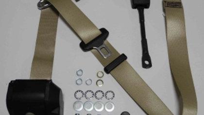 Dreipunkt Automatik Sicherheitsgurt,beige,22cm Peitsche  passend für W113 Pagode