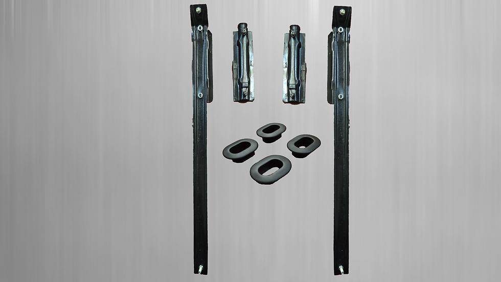 Mounting material for Mercedes head restraint bracket rear W123 / 8 W116 etc