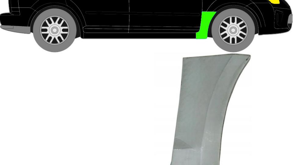 Vorne Kotflügel Reparaturblech / Rechts für Ford C-MAX 2007-2010