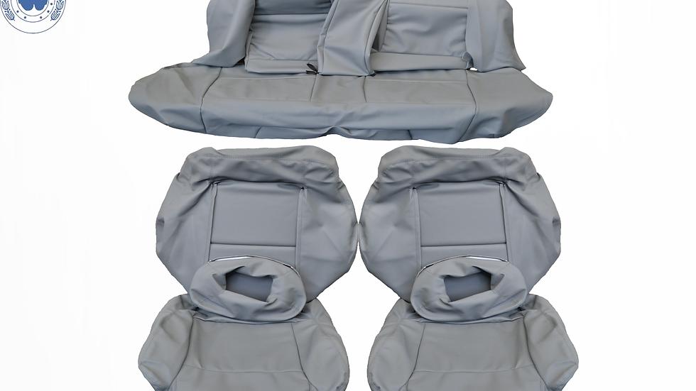 Sitzbezüge Bezüge passend für Audi 80 Cabrio grau