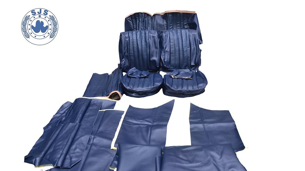 Sitzbezüge für Mercedes  Benz W108  Kunstleder blau