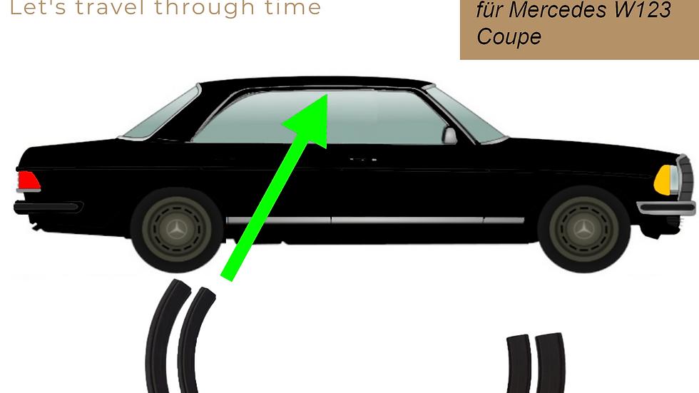 Abdichtung Dachrahmen A-C Säule für Mercedes W123 Coupé rechts
