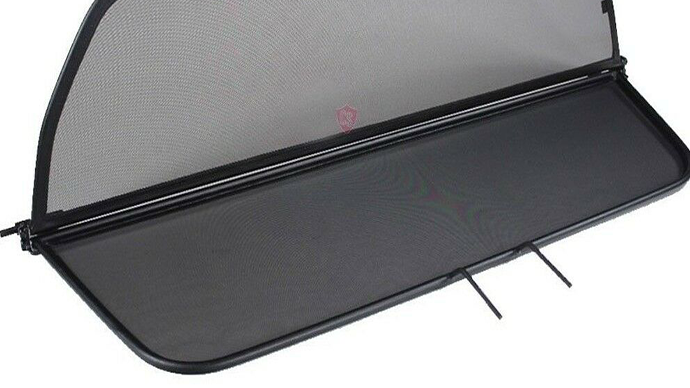 BMW 6 Series F12 Windshield Windstop Windscreen 2011-today, black