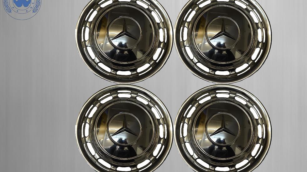 Original Mercedes steel wheel covers W123 W126 W116 W107 W108 W 109