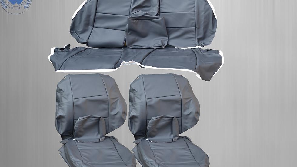 Sitzbezüge Bezüge passend für BMW 3er-Reihe E46 Cabrio , schwarz