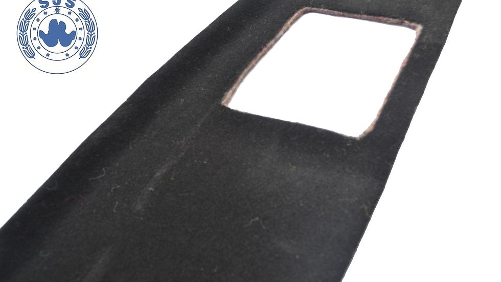 Hutablage für Mercedes W123 Coupe, schwarz