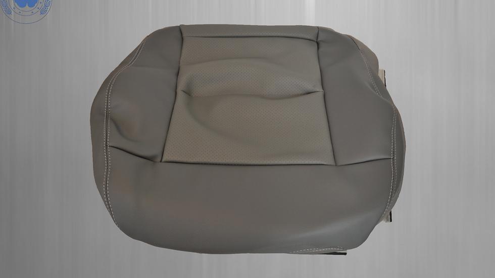 Sitzbezug Sitzfläche Vordersitz für Mercedes W212 Beifahrerseite, dunkelgrau